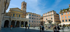 Piazza Santa Maria de Trastevere