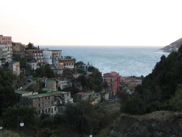 View of the sea from Vietri sul Mare