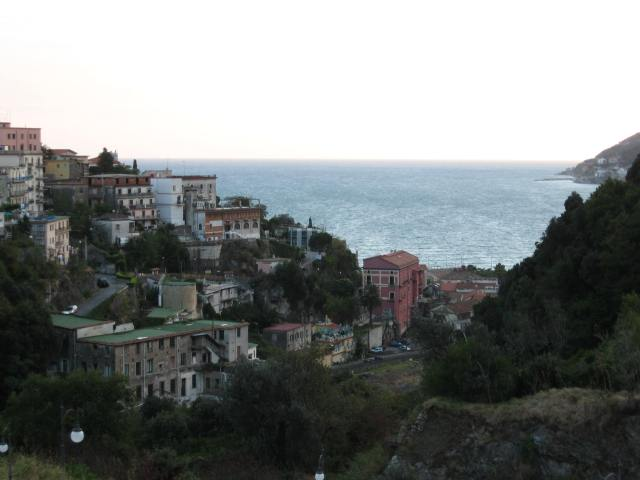 View of the sea from Vietri sul Mare