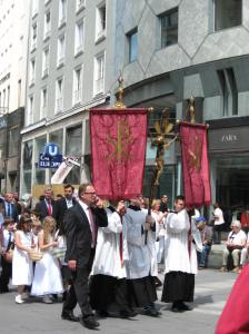Feast of Corpus Christi, Vienna, June 2012