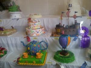 Prize winning cakes