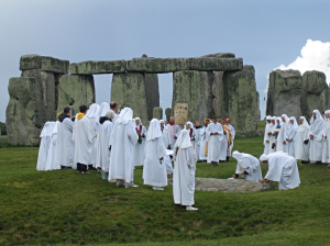 Solstice at Stonehenge?