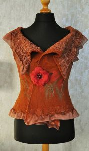 A felted top from Ginny's Pinterest board