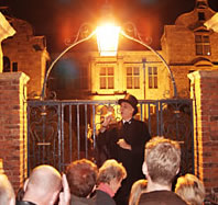 A ghost walk in York