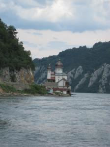 Cruising down the Danube, somewhere near Croatia