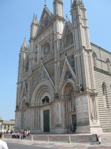 The duomo in Orvieto is one of the most spectacular churches in Italy - and one of my favorite towns.