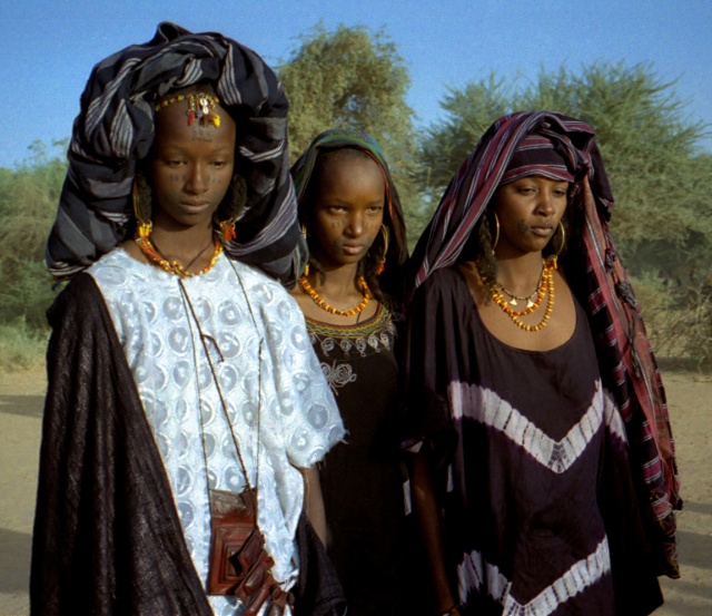 These native Wodaabe women are gorgeous - love the outfits