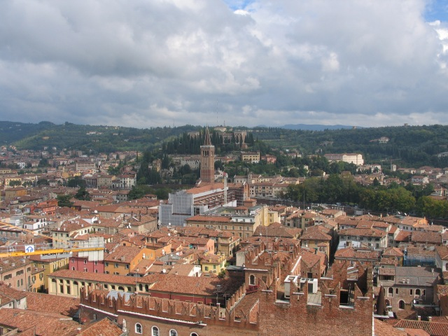 Looking out over Verona, nine years ago today - October 3, 2005!