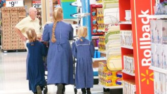 You thought I was joking, but no. Seeing polygamists in the St. George Walmart never fails to interest me.
