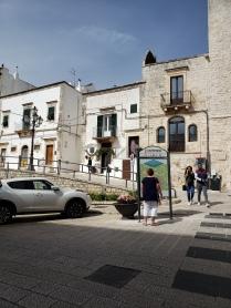 Cisternino main road map