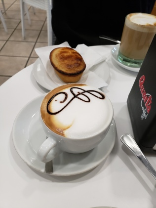 Isn't the cappuccino gorgeous, too?